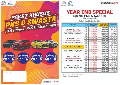 Promo Toyota Manado Meriah