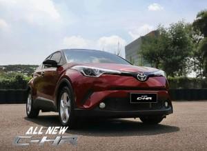 Toyota C-HR memberikan pengalaman menyetir ferrari
